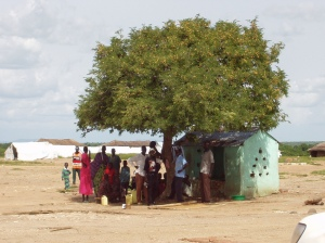 Just outside Juba, South Sudan