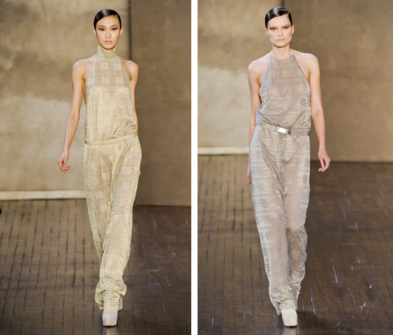 aa54f78344d Jumpsuit of the Day  Akris at Paris Fashion Week