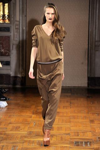 Anne Valerie Hash at Paris Fashion Week