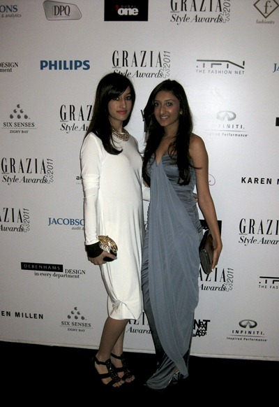 Fashion Stylists Salary on Grazia Style Awards 2011         The Journalist In A Jumpsuit