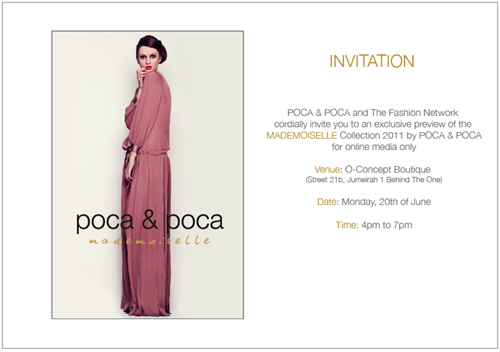 Poca & Poca Invitation