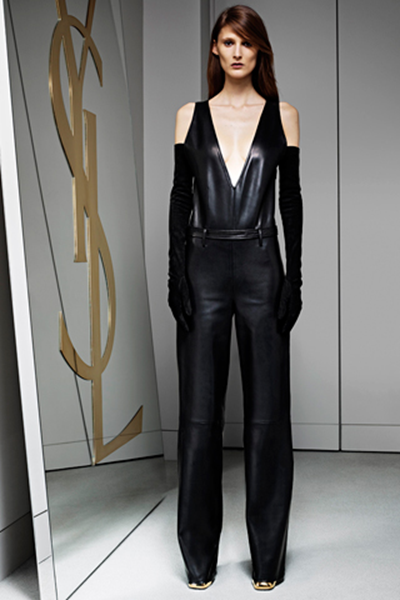 Evening Jumpsuits Fashion on Jumpsuit Of The Day  Yves Saint Laurent Pre Fall 2012    The