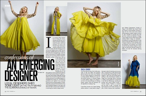 Confessions of an Emerging Designer - Velvet