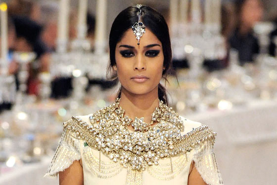 Then When I Saw A Similar Style Of Indian Inspired Head Jewellery On The Models At ASHISH Fall Winter 2012 Show Knew That It Had Become Sort